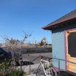 nuttet hus og byggeplads i Alameda